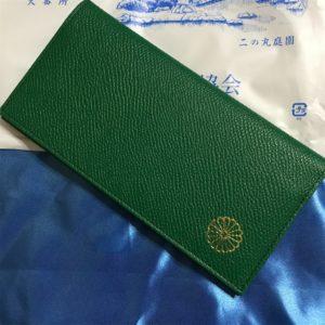 皇居の売店で売っている財布と小銭入れを買ってみた