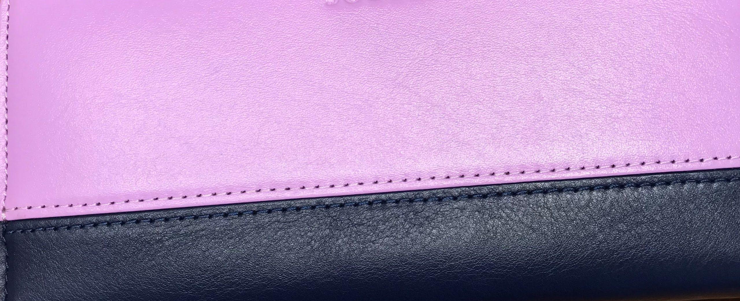 紫色の財布